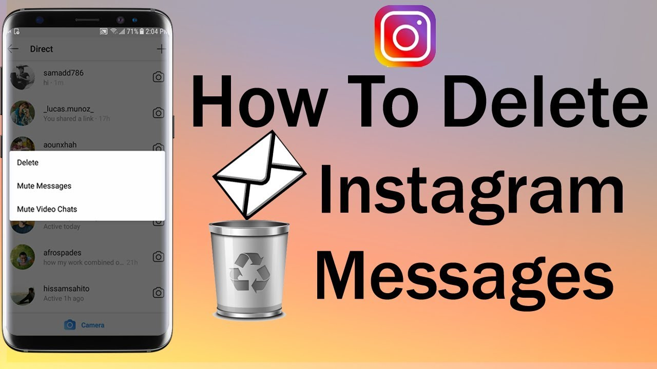 How To Delete Instagram Messages
